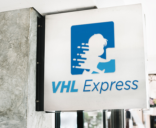 vhl express logo design by anchor monkey